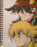 Pip and Seras by sydworm