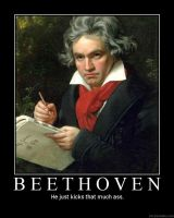 Beethoven poster by Eddy1701