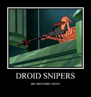 DROID SNIPERS by Starwarsclub123