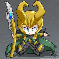 (Commission) Loki by lemonpandachan
