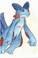 Unfinished Swampert by Poo7878