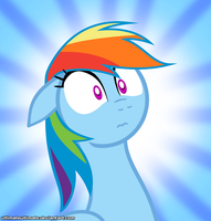 Surprise Rainbow Dash by ZantyARZ