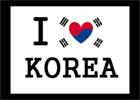I-LOVE-KOREA by LinaElShamy