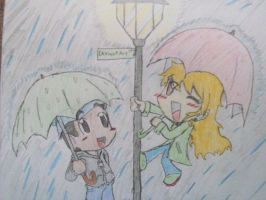 Singing In The Rain by Lu-WeeGee