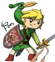 Minish Cap by bloody--mascarade