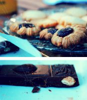 Chocolate and Cookies by agnesvanharper