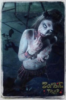 Zombie Tramp Poster 3 by LillyLeeModel