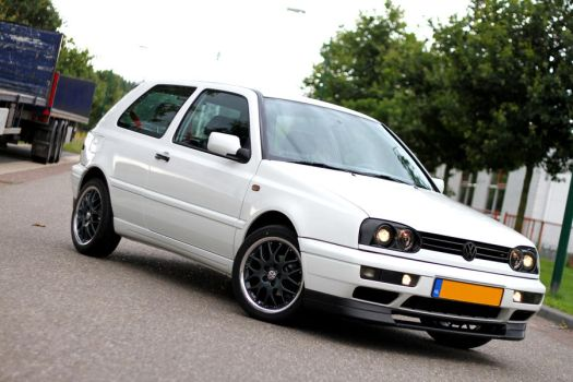 VW Mk3 ABT *Candy white* by TheDutch87