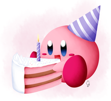 Happy b-day Blopa! by Exceru-Hensggott
