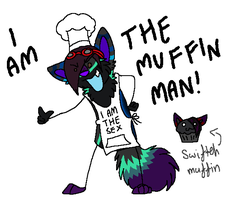 Lydz the muffin man by Blood-Demon-Shinobi