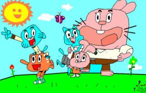 amasing world of gumball by sonictails9