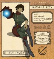 Republic City App - Moli by ofpink