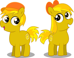 Meet the Waffle Twins! by BigDream64