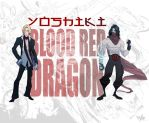 YOSHIKI the BLOOD RED DRAGON by Shadowgrail