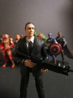 coulson close up by SpudaFett