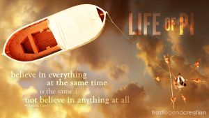 Life of PI Quote by froztlegend