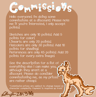 Commission Information! by Samagirl
