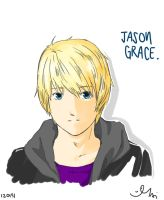 Jason Grace by Hiiyuki