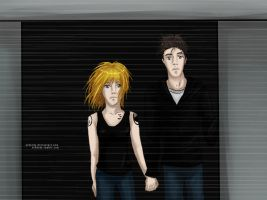 Allegiant - Leaving the city by Arhatdy