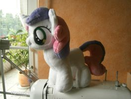 Handmade Sweetie Belle Plushie by HipsterOwlet