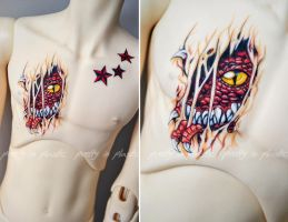 Commission - Tattoos for Dollshe Hound - 03 by prettyinplastic