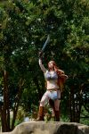2016-09-04 Red Sonja at Olympic Park by skiesofchaos