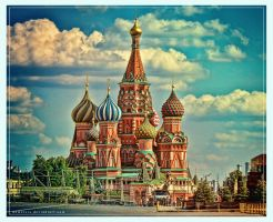 Saint Basil's Cathedral by demeters