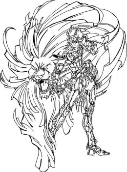 Saint seiya Lion by ced by diabolumberto
