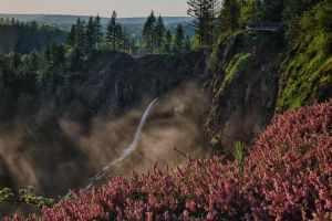 The Other Side of Snoqualmie Falls by arnaudperret