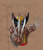 wolverine sketch by camillo1988