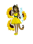 Sunflower Princess by CheyWolf