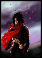Madara and cherry petals by calleena