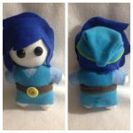 Blue Link Triforce Heroes Plush 2.0 | For Sale by LeslysPlushes