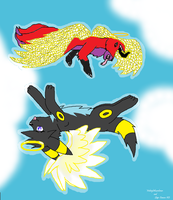 Flying High - Collab With Sleep-Demon-XD by MidnightTheUmbreon