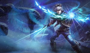 Frost Ezreal by Decagon-Ezreal