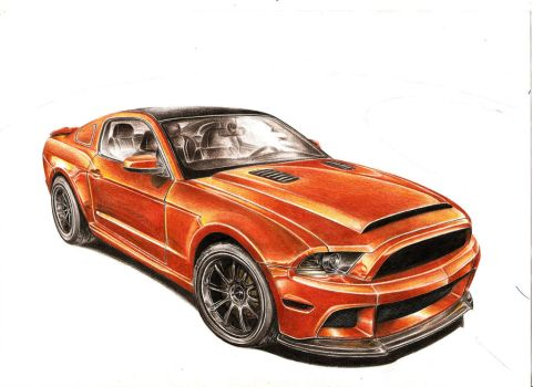 Ford Mustang by Strong3r