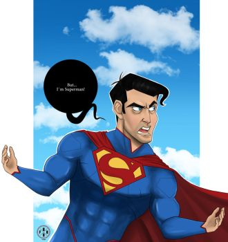 Sketch Dailies Submission (Superman_ by emoboyfuno