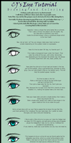 Anime-ish Eyes Tutorial by thecapturedspy
