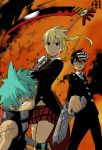 Soul Eater 107 Light Coloring by M by MarioTheArtistM
