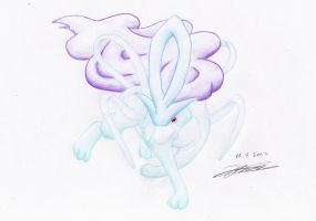 245 Suicune by Hamii