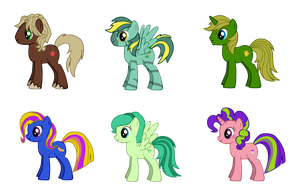 Free Pony Adoptables CLOSED by SuperBashSisters