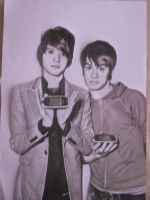 Brendon Urie and Ryan Ross by honey-murphy