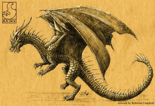 Ink Dragon 7 by chaosia