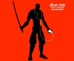 Ninja IPod - Take it anywhere by zoomzoom