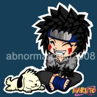 inuzuka kiba color by abnormalchild