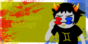 Sollux Captor Valentine Card by tigersmt334