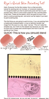 Skin Painting Tutorial by xMAnimeArtist81x