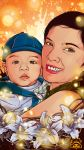 wife and son by ruados