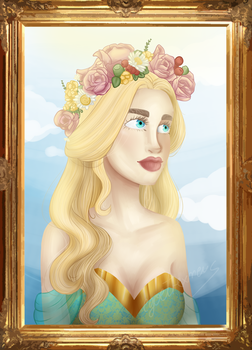 Princess Portrait by egoetrexmeus