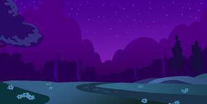 MLPFiM Night background by TeaganLouise